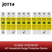 Spd 1p/1p + n/3p/3p n 10 20ka d Тип ~ 385vac дом Защита от перенапряжения