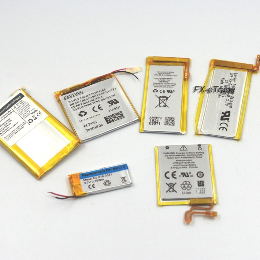 Internal Li-ion Battery Replacement for iPod Nano 2nd 3rd 4th 5th 6th 7th(China)
