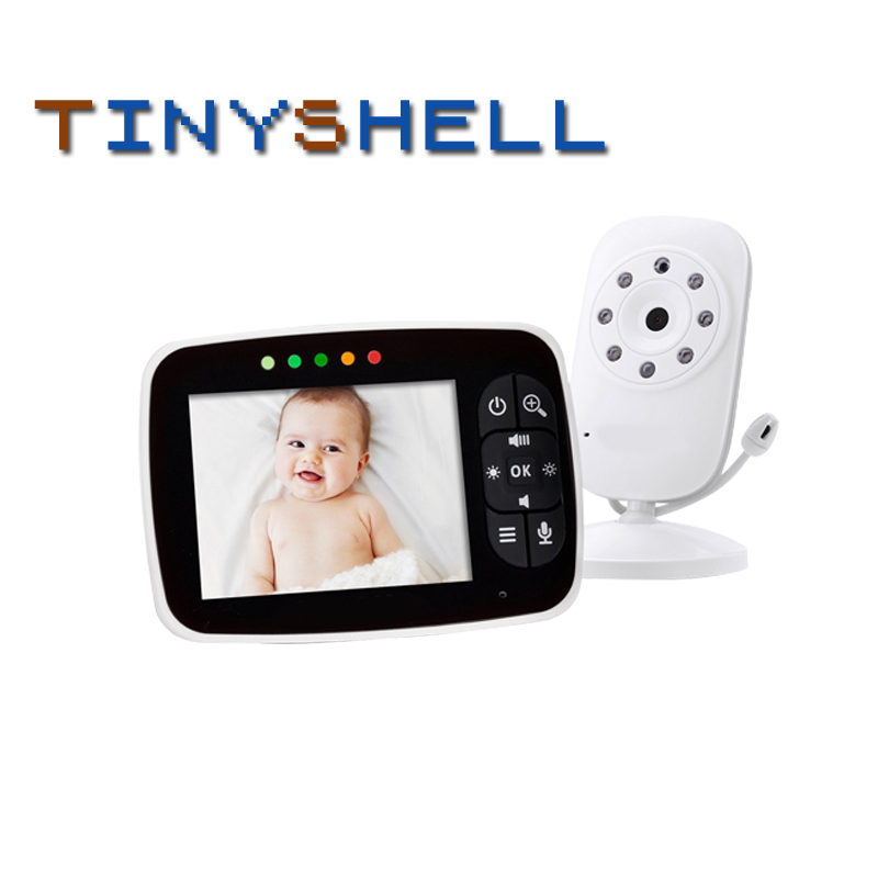 3.5 Inches LCD Wirless 2 Way Audio Talk Night Vision Surveillance  Baby Monitor Bebe Phone Security Camera Babyphone Bebes Nanny
