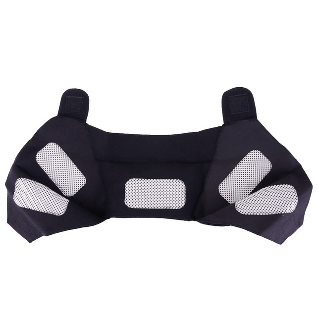 Tourmaline Self-heating Unisex Heat Therapy Pad Shoulder Protector Support Body Muscle Pain Relief Health Care Heating Belt 4
