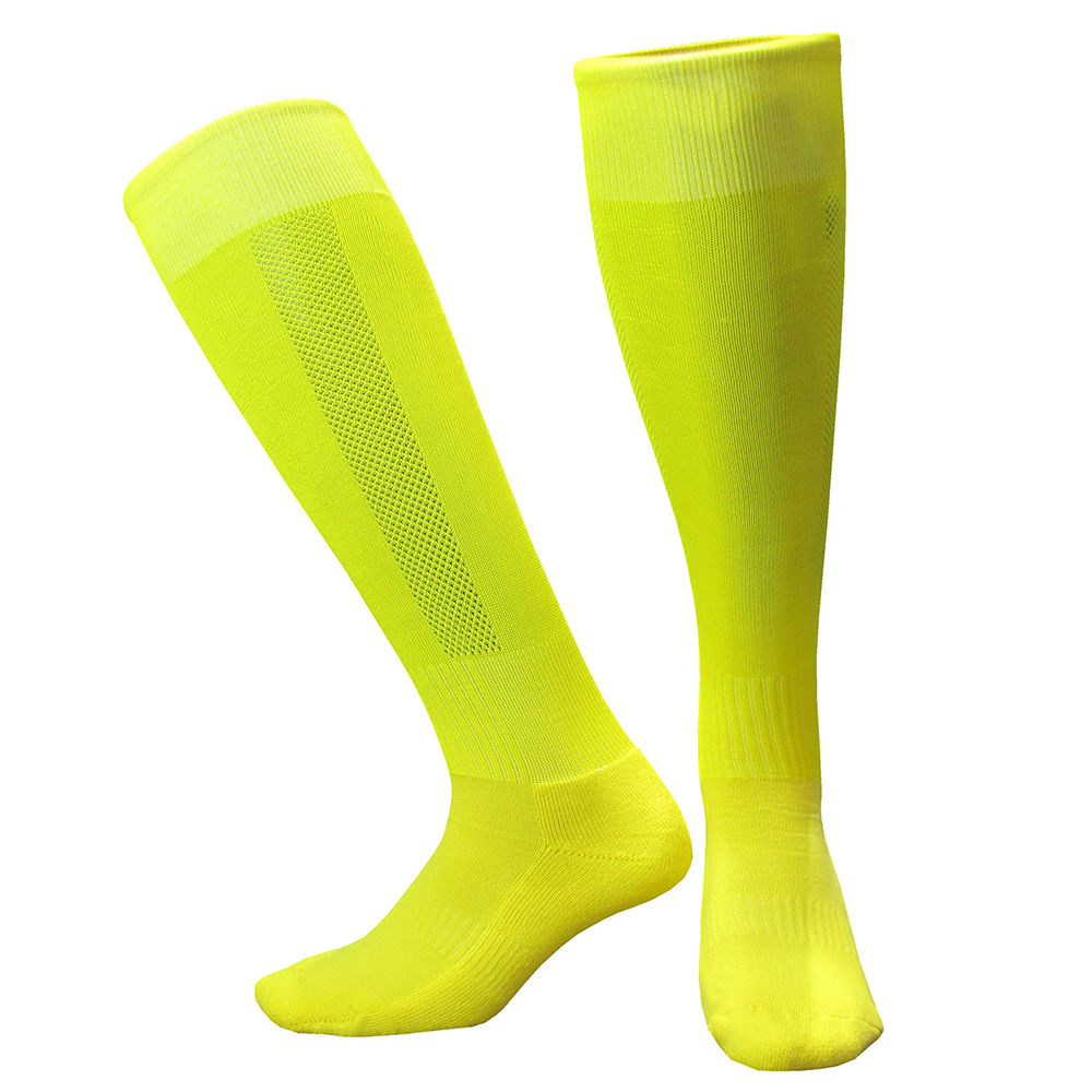 CTM005黄色毛巾底足球袜 副本