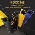 POCO M3 глобальная версия сотовый 4 Гб 128 Xiaomi Смартфон Snapdragon 662 Octa Core 6,53