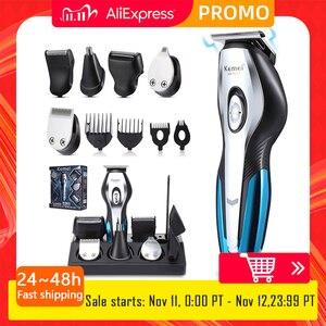 Image 1 - Barber Haar clipper elektrische haar schneiden maschine professionelle trimmer rasieren bart wiederaufladbare werkzeuge trimer cliper 5