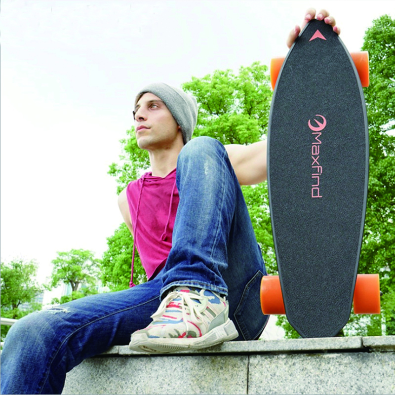 Electric Skateboard Four-wheel Longboard Skate Board Maple Deck Wireless Remote Controll Skateboard Wheels For Adult Children