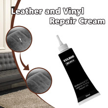 Высокое качество черная кожа и винил Ремонтный комплект-мебель, диван, автокресла, диван, куртки поддержка Прямая поставка