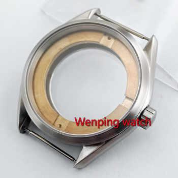 41mm Watch case watch accessories Bottom cover Fit eta 2836 miyota 8205,8215,821A;mingzhu DG2813,3804 movement P872