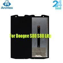Para 100% original doogee s80 display lcd e tela de toque digitador assembléia para doogee s80 lite 5.99
