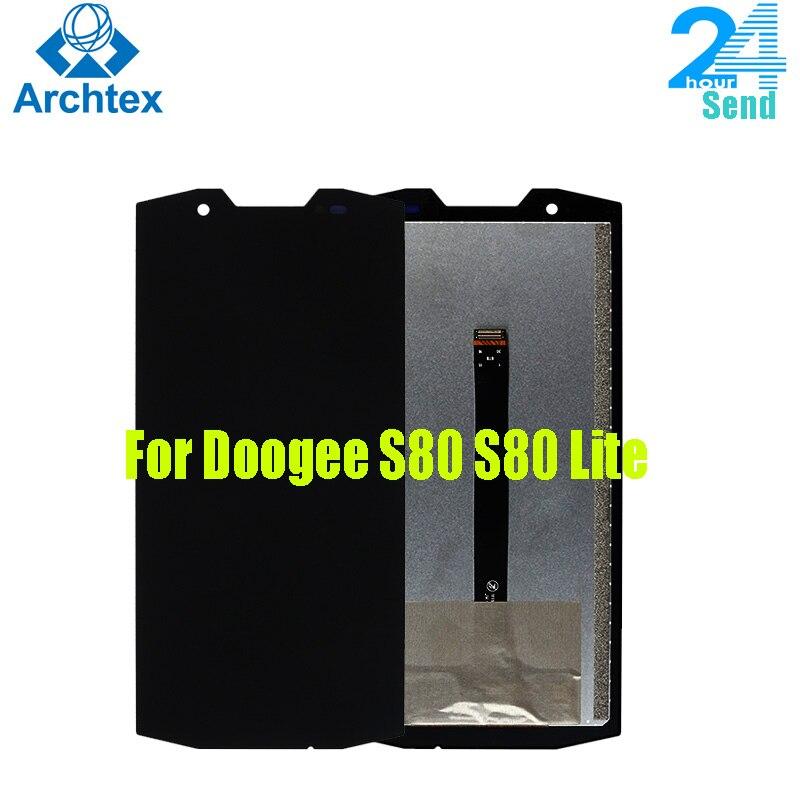 """Para 100% original doogee s80 display lcd e tela de toque digitador assembléia para doogee s80 lite 5.99 """"2160x1080p"""
