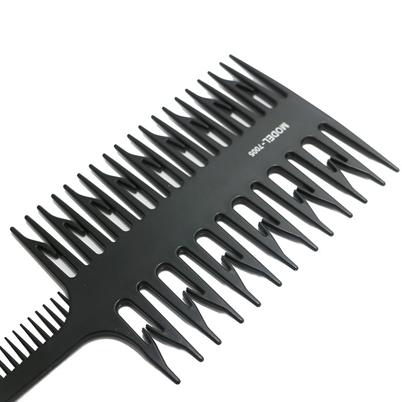 1pc Unisex Big Tooth Comb Hair Dyeing Tool Highlighting Comb Brush Salon Pro Fish Bone Design Comb Hair Dyeing Sectioning Hot