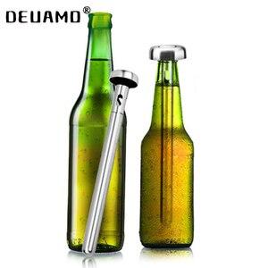 Bâtonnets de refroidissement en acier inoxydable | 2 pièces, bouteilles de refroidissement intérieur, pour le refroidissement rapide, boissons en bouteille, boissons physiques glacées