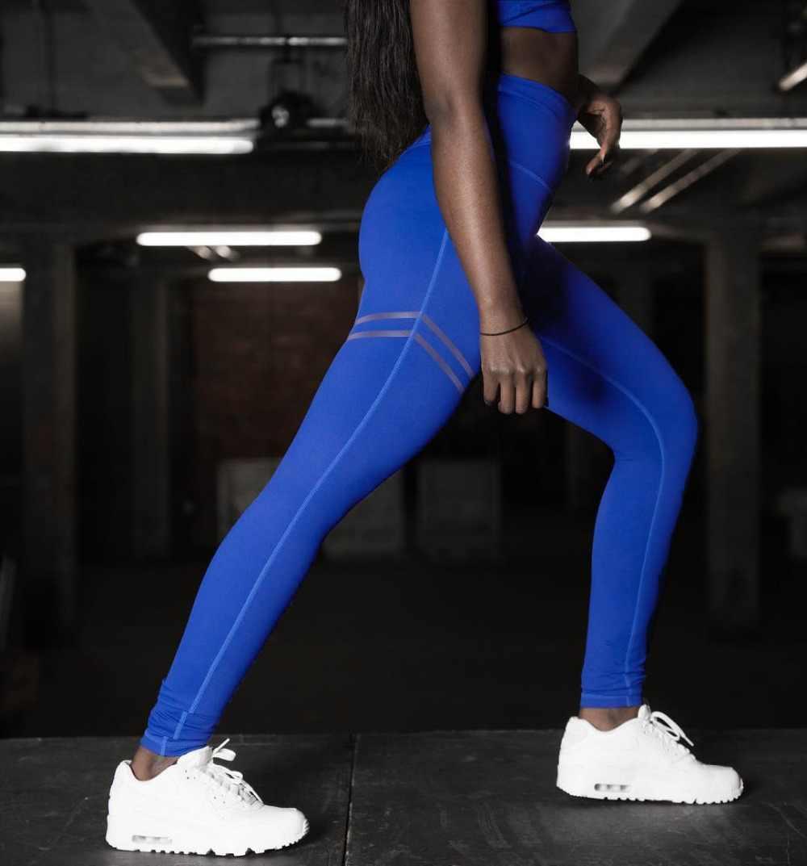 2019 verano Mujer Jogger deportes Yoga entrenamiento gimnasio Fitness Leggings pantalones mono Atlético Leggings correr gimnasio Scrunch Pantalones