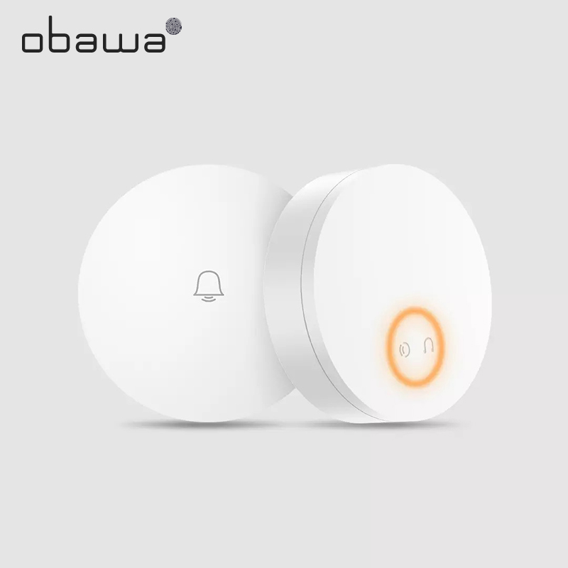 Obawa Intelligent Wireless Doorbell Without Battery Wireless Home Remote Waterproof Smart Door Bell Xiaomi Mijia Mihome APP Wifi