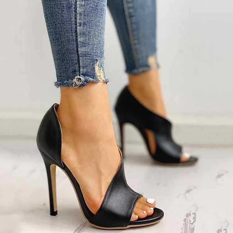 HOT Women Pumps New Shoes Sexy High Heels Ladies Party Stiletto & Enlargers Female Silver Wedding  Snake Print Heels  Zapatos ui