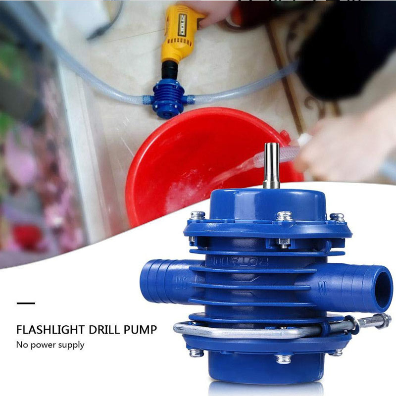Image 3 - Hand Electric Drill Self Priming Water Pump DC Centrifugal Pump Household Small Submersibles Motor Home Garden DrainagePumps   -