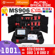 Autel Maxisys MS906 Auto Diagnostic Tool OBD2 Scanner Automotive Sleutel Codering Obd 2 Ecu Tester Key Programmeur Pk MS906BT MS906TS(China)