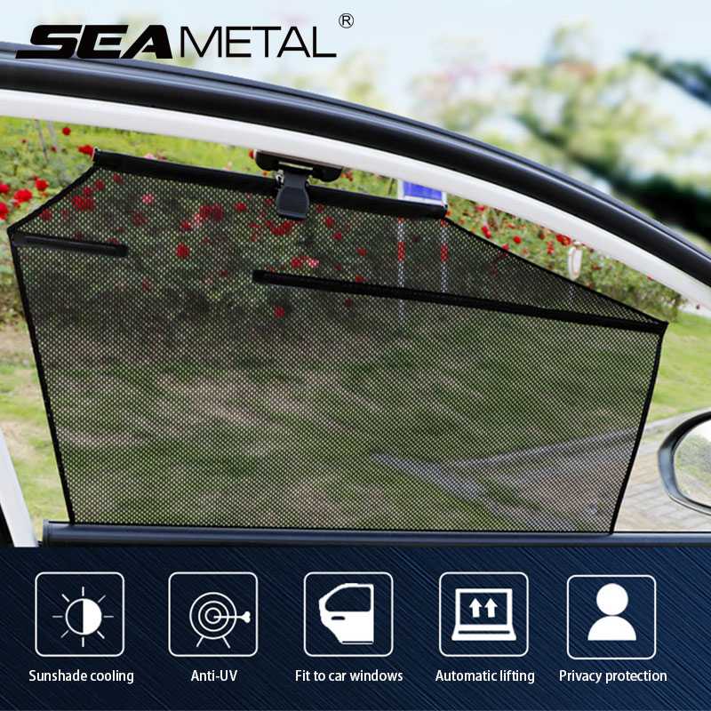Automatically Side Window Curtains for Car Sun Shade Cover Anti UV Sunshades Privacy Protection Auto Sun Protection Car Goods
