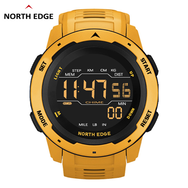 Мужские водонепроницаемые спортивные часы NORTH EDGE