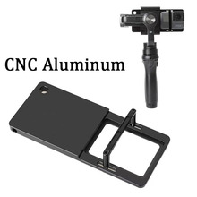 Handheld Gimbal Adapter Switch Mount Plate for GoPro Hero 8 7 6 5 Yi4K SJCAM Feiyu Zhiyun DJI Osmo Action Camera Accessories Set