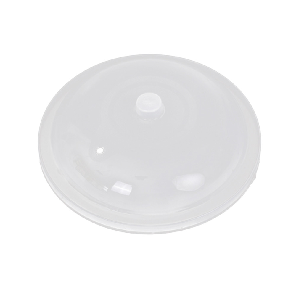Microwave Food Cover With Two Small Holes To Release Steam Used As Microwave