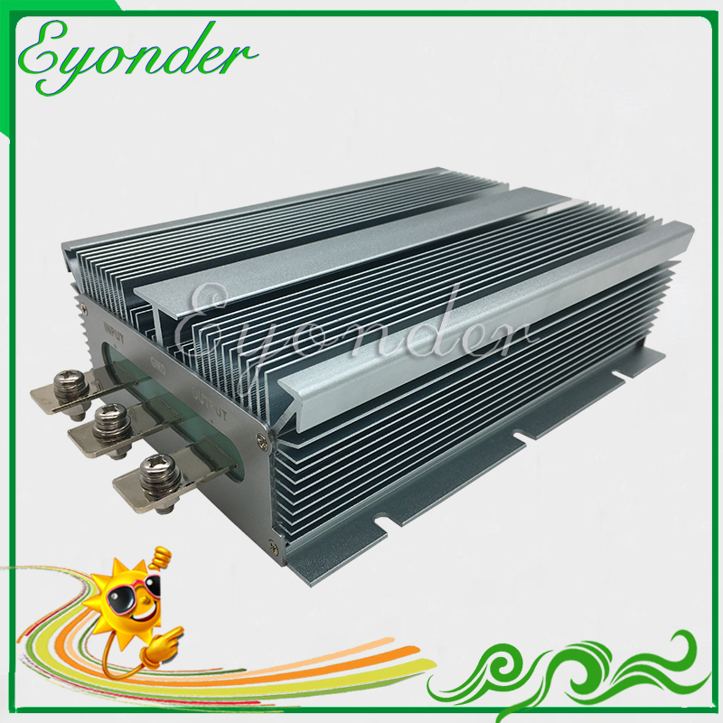 high power 10v~15v 11v 13v 14v dc dc 12v to <font><b>36v</b></font> boost converter 40a 1440w step up power supply module for car battery charger image
