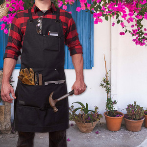 Multifunction Garden Tools Pouch Carpenter Worker Apron with Tool Pockets PAK55(China)