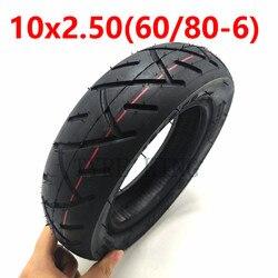 Высокое качество 10x2,50 внутренняя внешняя шина 60/80-6 Трубная шина 10 дюймов пневматическая шина для электрического скутера аксессуары
