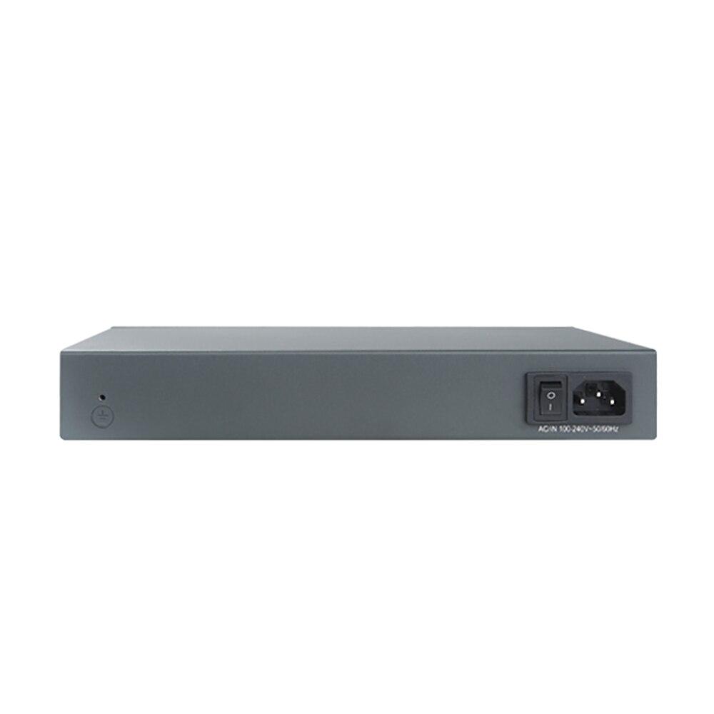 Купить с кэшбэком 8 Ports 10/100base-t POE Switch With 1 Gigabit RJ45 and 1 Gigabit sfp