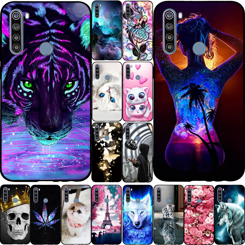 For Xiaomi Redmi Note 8T Case Cover Fashion Cute Soft Silicone TPU Back Cover Bumpers for Redmi Note 8 T Note8t 8 t Phone Cases(China)