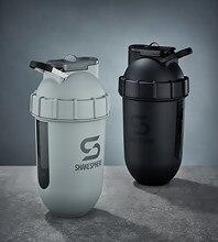 ShakeSphere Tumbler Protein Shaker Bottle VIEW Matte Water Bottle Sport Shaker Protein Powder Mixing Fitness Gym Bottle 700ml