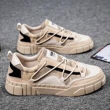 2020 Autumn Men Casual Shoes Lightweight Comfortable Breatha
