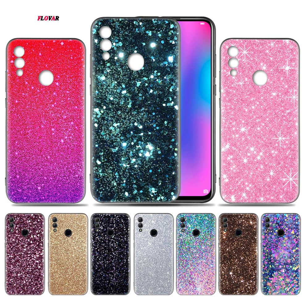 <font><b>Rhinestone</b></font> Luxury Fitted <font><b>Case</b></font> for <font><b>Huawei</b></font> Honor 9X 8X Y9 <font><b>20</b></font> 9s 10 Lite Play 8C 8A <font><b>Pro</b></font> V20 20i Y6 Y7 2019 Soft Phone coque image