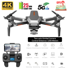 Drone 4k Gps Profissiona 5G Wifi Brushless Dron Gesture Photo Auto Return FPV Drone Camera Adjustable Quadcopter Helicoptero RC