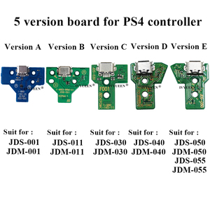 Image 2 - 10 pcs JDS 055 040 030 011 USB Charging Port Socket Board For Sony PlayStation 4 PS4 DS4 Pro Slim Controller Charger PCB Board
