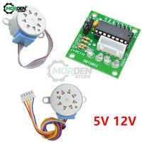 Módulo de placa controladora ULN2003, 28BYJ-48, 5V/12V, engranaje de reducción, Motor paso a paso de 4 fases para Arduino, 1 Juego