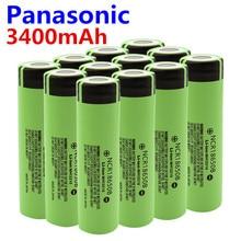 Panasonic Оригинальная 18650 батарея NCR18650B 3,7 v 3400 mah 18650 литиевая аккумуляторная батарея для фонариков