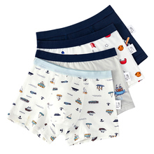 Full Cotton Cartton Boys Boxer Underwear Graphic Boy Shorts Child Bottoms Kids Clothes for 3 4 6 8 10 12 14 Years Old OKU203011