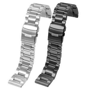 Image 3 - 肥厚ステンレス鋼腕時計ストラップpeneraiに適合させる男性の鋼バンドPAM111 黒交換チェーン 22 ミリメートル 24 ミリメートル
