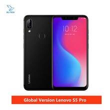 Versão global lenovo s5 pro 6gb snapdragon 636 octa núcleo smartphones 20mp quad câmeras 6.2 polegada octa núcleo 4g lte telefones