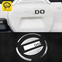 CarManGo For Toyota Prado 2010 2019 Car Styling Trunk Spare Tire Cover Trim Frame Sticker Interior Accessories