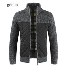 Mens Sweaters Winter Men Thick Warm Knitted Sweater Jackets Cardigan Coats Male Slim Knitted Jackets Windbreaker Clothing