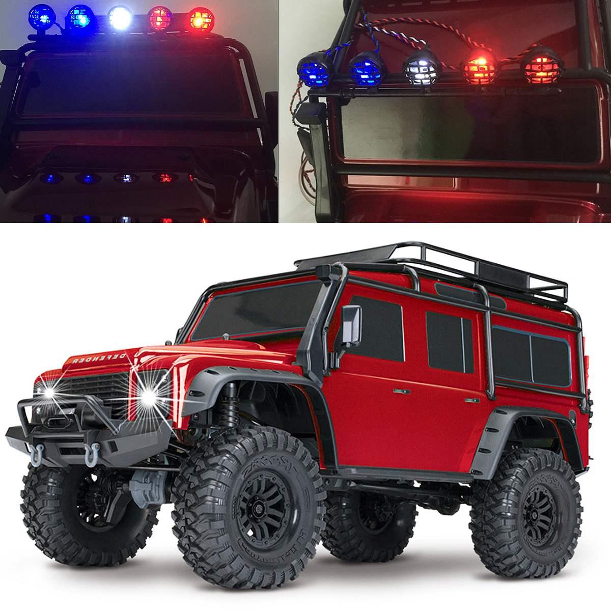 45 Uds. LED reflector delantero trasero de neumáticos luz de techo IC grupo de lámpara para Trx4 - 6
