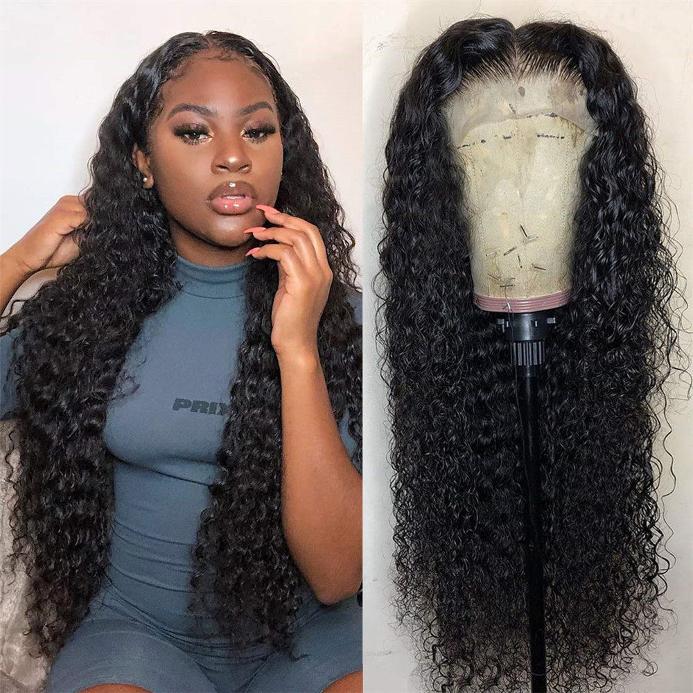 Lace Front Wigs 13x6 Deep Part Human Hair Wig Loose Wave Brazilian Remy Hair Pre Plucked Glueless Wig With Baby Hair