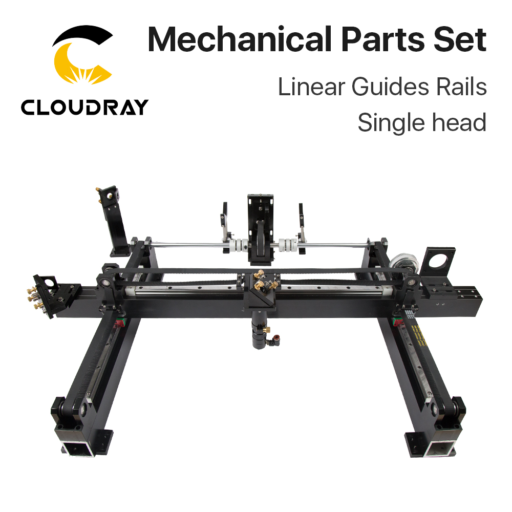 Image 2 - Cloudray Mechanical Parts Set 1300mm*900mm Single Double Head Laser Kits Spare Parts for DIY CO2 Laser 1390 CO2 Laser Machineparts machineparts forparts kit -