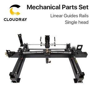 Image 2 - Cloudray ensemble de pièces mécaniques, kit Laser 1300x900mm, pièces de rechange pour Machine Laser CO2 1390 à bricolage