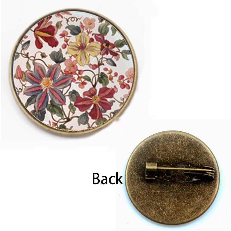 Glamour Henna Yoga amuleto dama broche redondo cúpula de cristal colgante joyería símbolo de mandala bohemio Naná Mujer Accesorios regalo fiesta