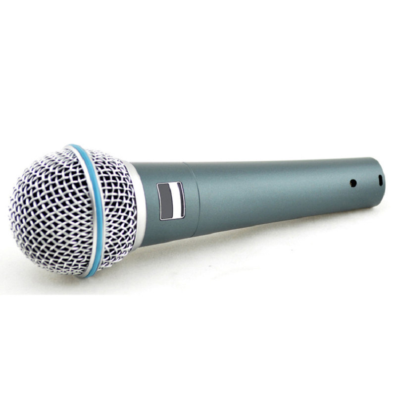 Top Quality Version Super-cardioid Live Vocals Karaoke Dynamic BETA Wired Microphone Podcast 58A Microfone Voiceover Mike Mic