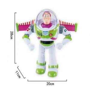 Image 5 - Nowy Toy Story 4 Buzz astral może chodzić świecące angielskie piosenki działania model figurki dzieci prezenty kolekcja