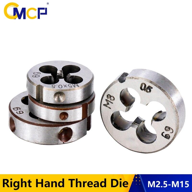 1pc M9X0.75  Right  hand HSSE Metric Round Split Dies Fine Thread Die
