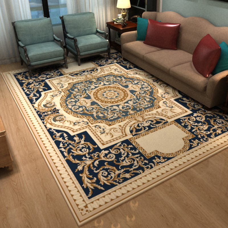 Nordique géométrique tapis salon chambre étude tête de lit rectangulaire tapis moderne décor maison tapis canapé Yoga 3D couverture tapis