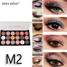 Miss rose12 цветные тени для век 6 цветов блестящая пудра jin